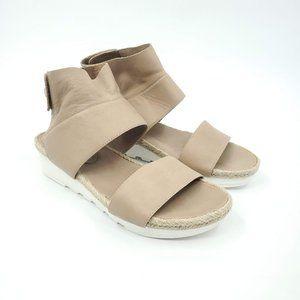 Eileen Fisher Platform Sport Wedge Velcro Sandal 9